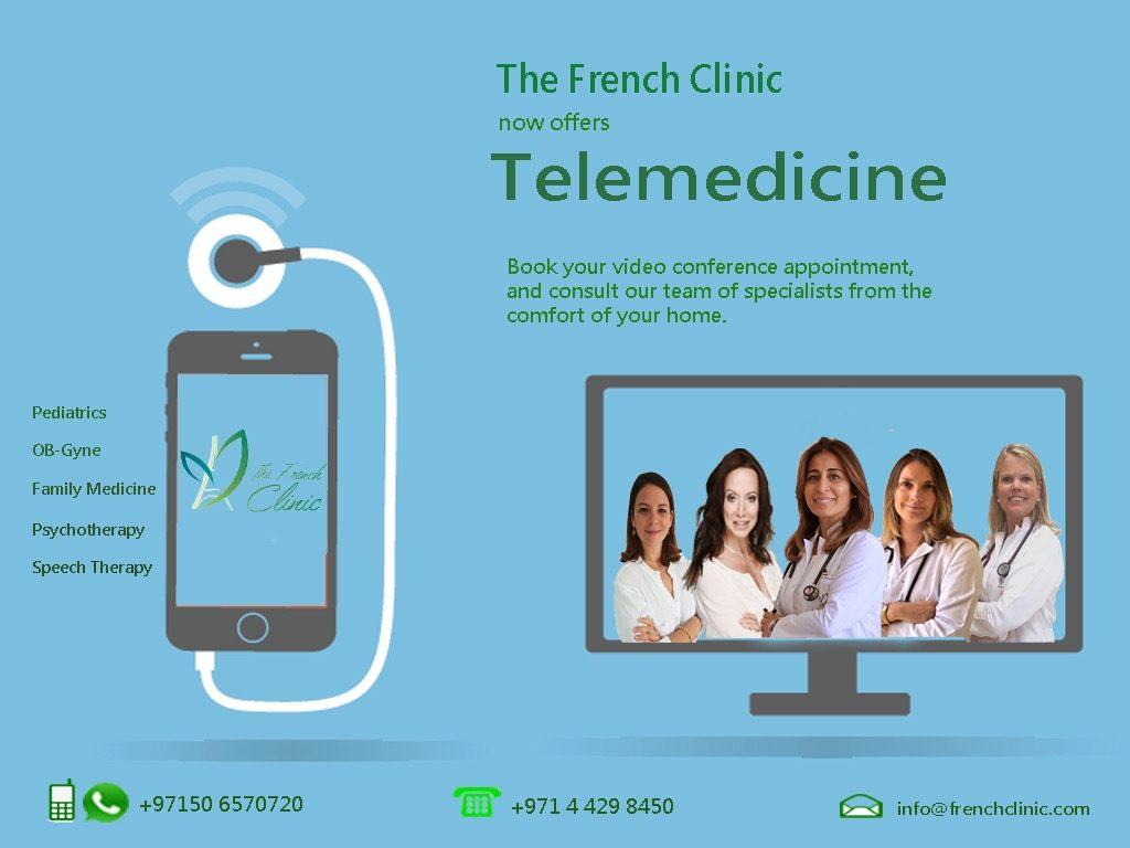 Consultation Télémédecine - The French Clinic